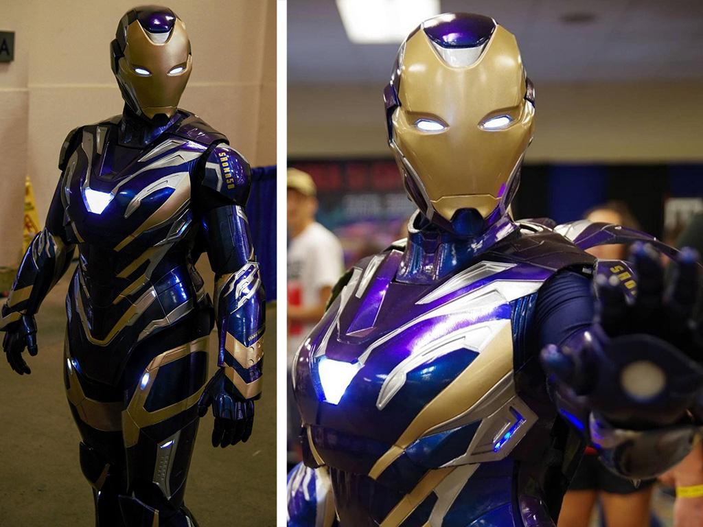3D printed Iron Man costume