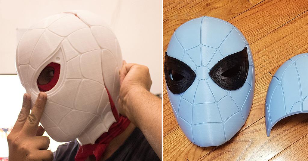 3D Printed Halloween Mask