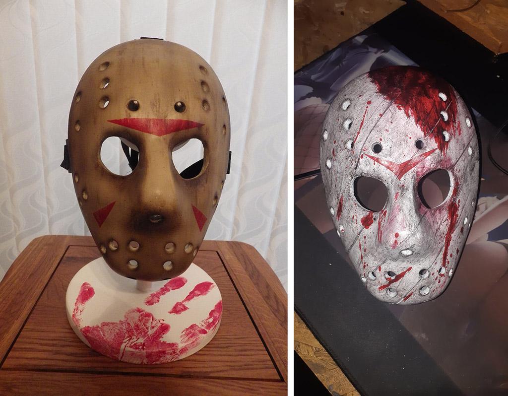 Jason Voorhees mask 3D print