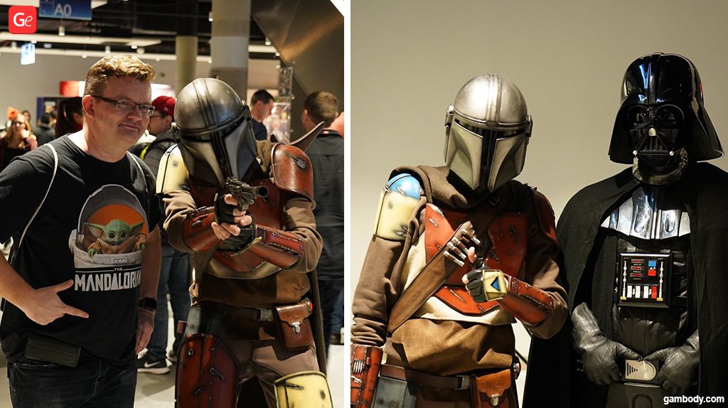Mandalorian costume 3D printed for cosplay
