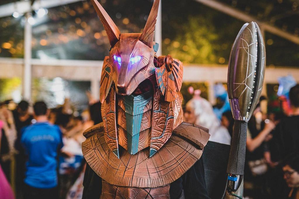 Stargate Anubis 3D printed costume