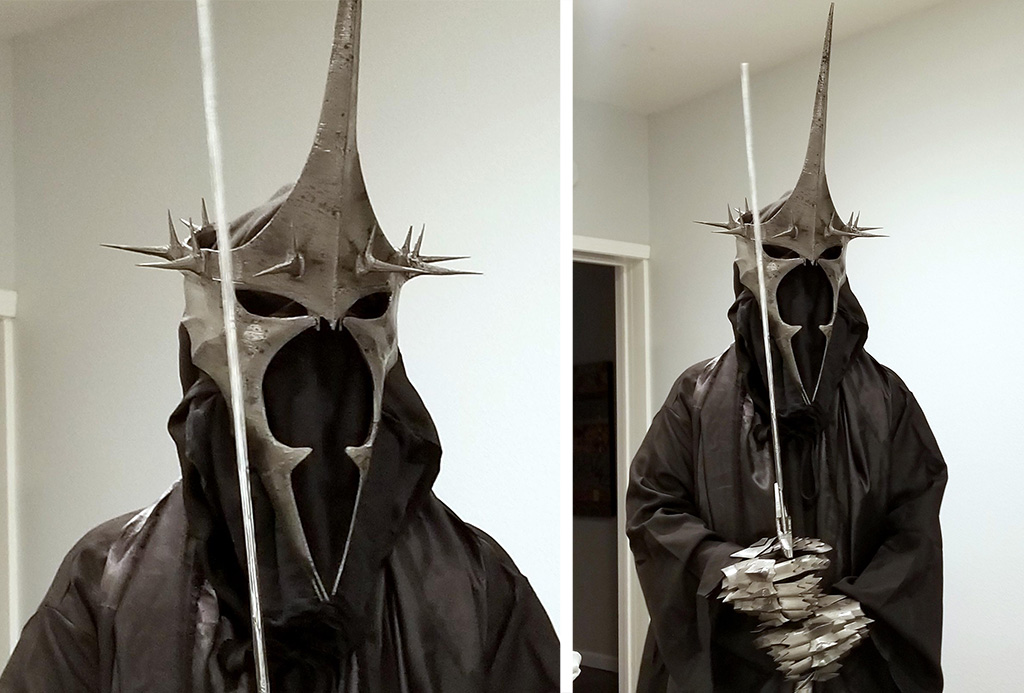 Witch-King of Angmar 3D printed cosplay costume