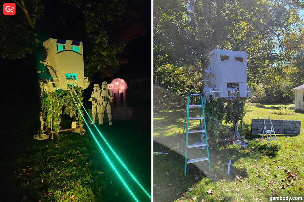 3D printed Halloween decorations