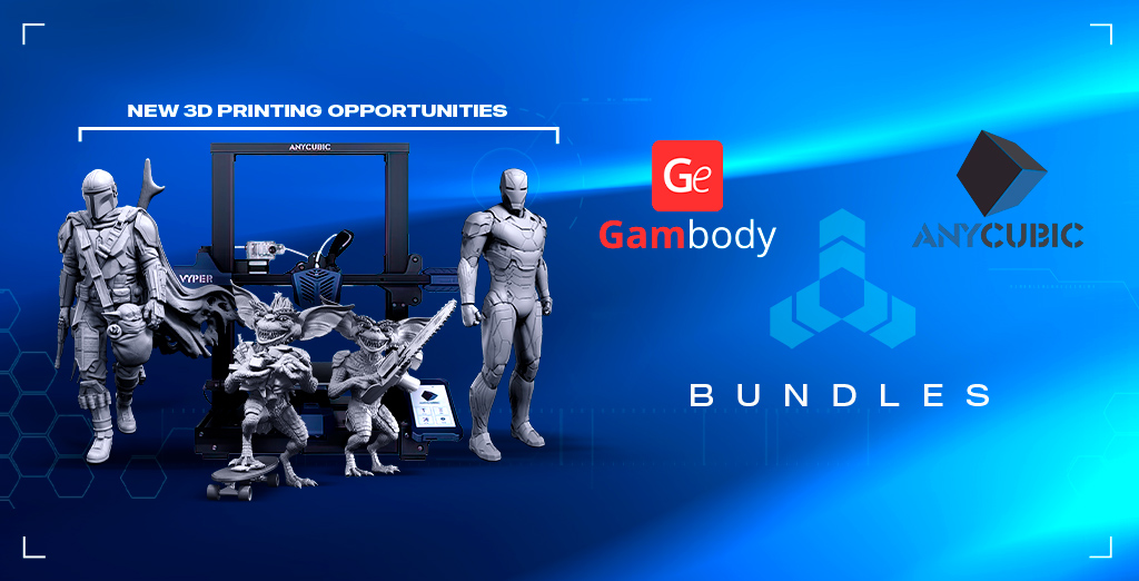 Gambody & Anycubic Collaboration