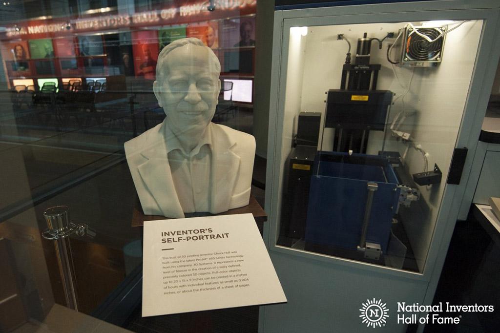 First 3D printer