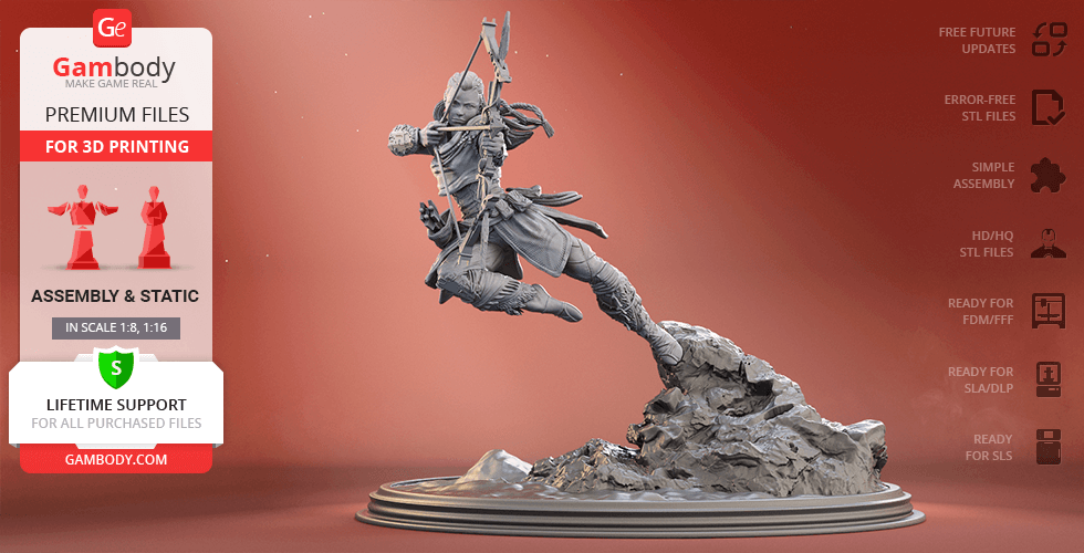Buy Aloy 3D Printing Figurine | Assembly
