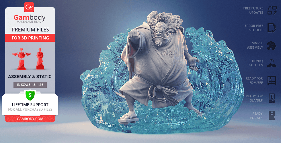 Buy Jinbe 3D Printing Figurine | Assembly