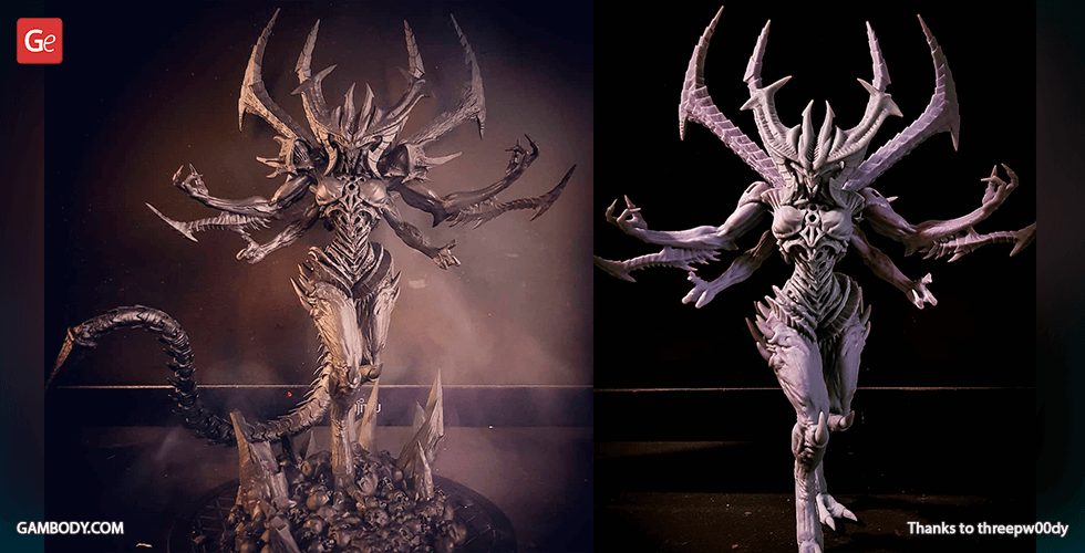 Buy Diablo 3D Printing Figurine | Assembly