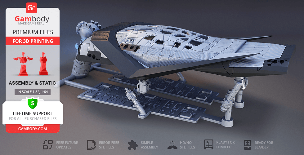 Buy Interstellar Ranger 3D Printing Model | Assembly
