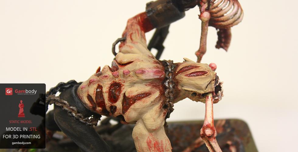 Buy Lifestealer  N'AIX  3D Print Model | Static Figure