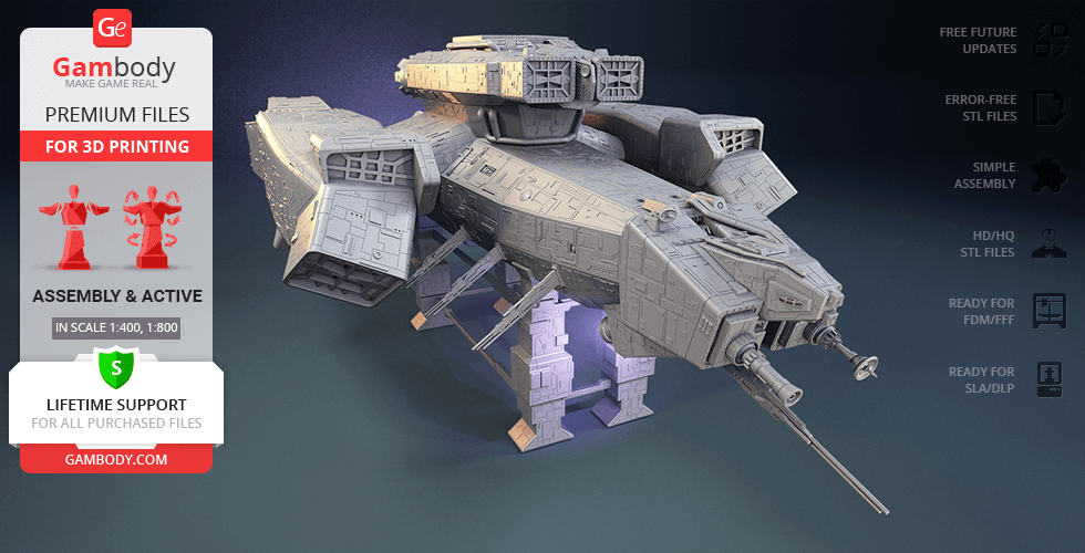Buy USCSS Nostromo 3D Printing Model | Assembly