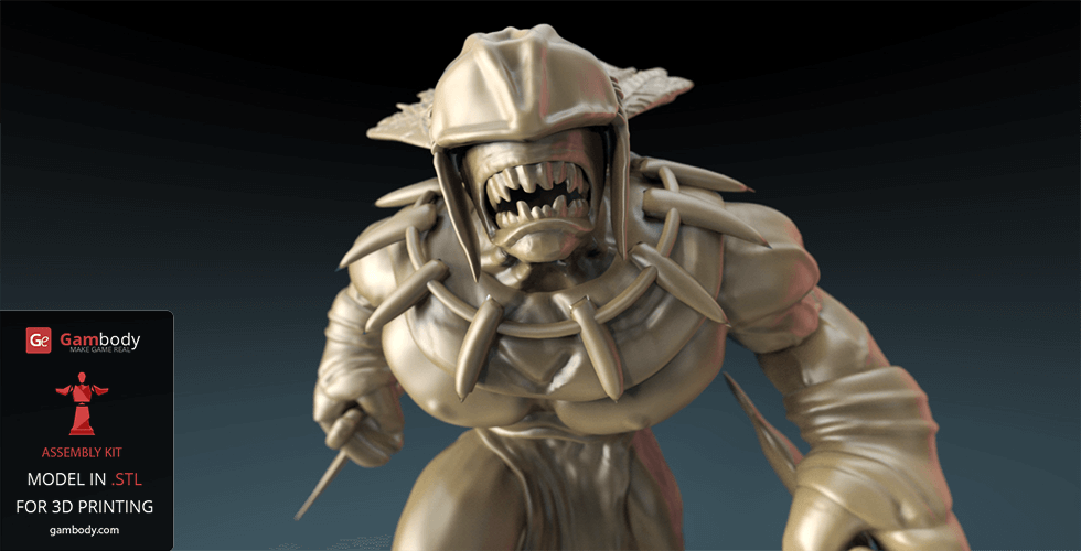 Buy Bloodseeker Strygwyr 3D Printable Model | Static Figure