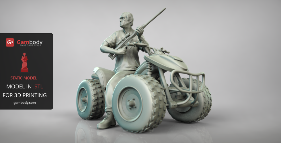 Gta 5 trevor 3d model download trevor 3d printable design for Mobel 3d download