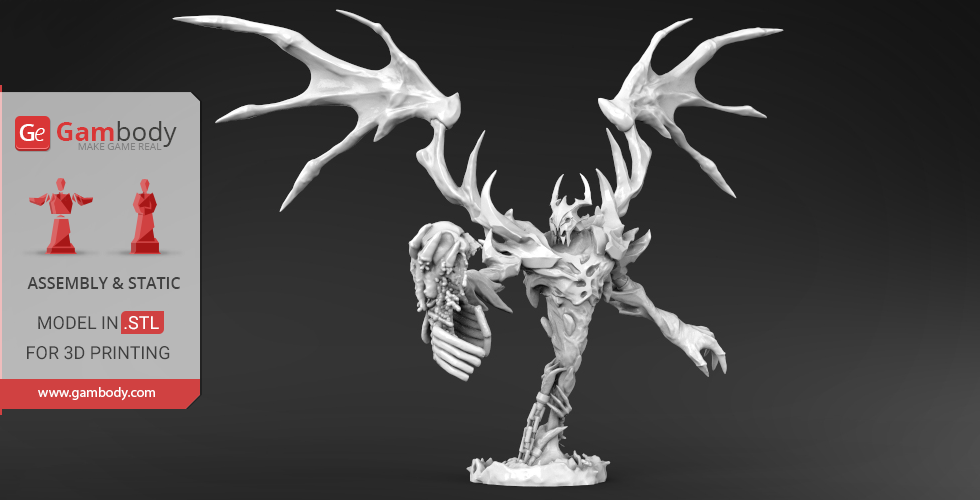 Buy Shadow Fiend 3D Model | Static Figurine