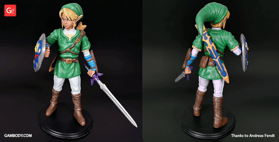 Buy Link 3D Printing Figurine | Assembly