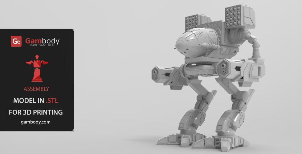 Buy Classic Mech Warrior MADCAT Action Model