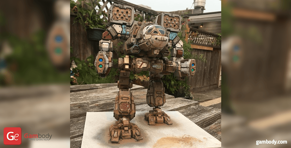 Buy Timber Wolf 3D Printing Gaming Miniature | Assembly