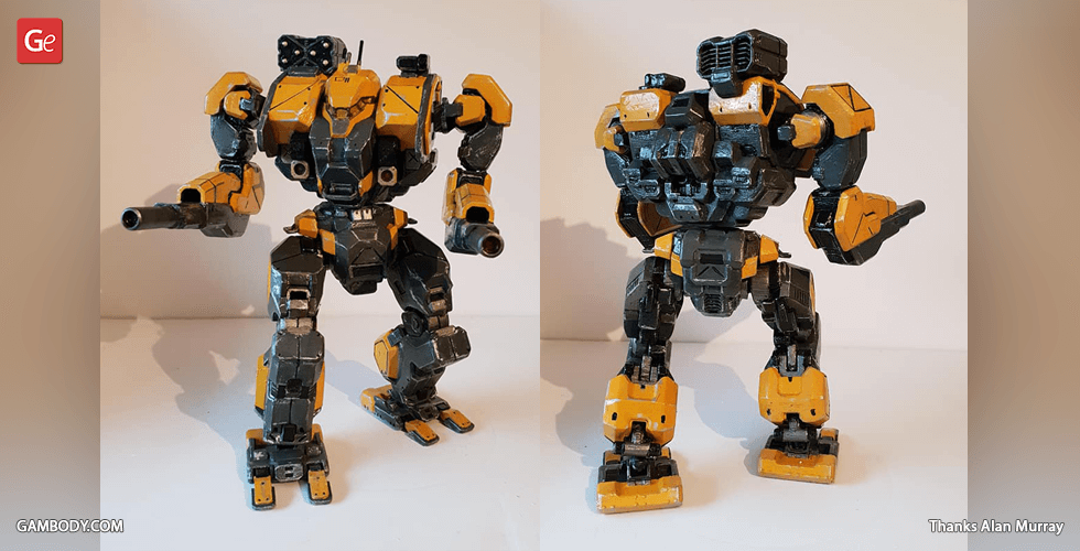Buy MWO War Hammer 3D Action Figure | Assembly