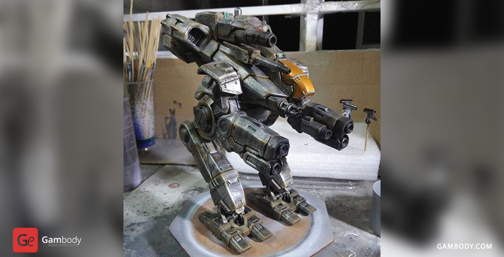 Buy BattleTech Marauder 3D Model | Assembly Figure