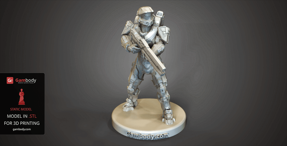 Buy Master Chief for 3D Printing | Static Model