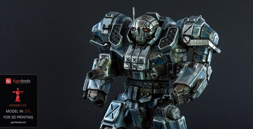 Buy MWO Atlas 3D Model | Assembly Action Figure