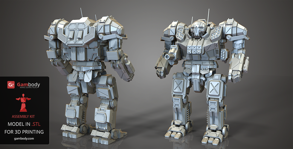 Mechwarrior Online Atlas Battlemech