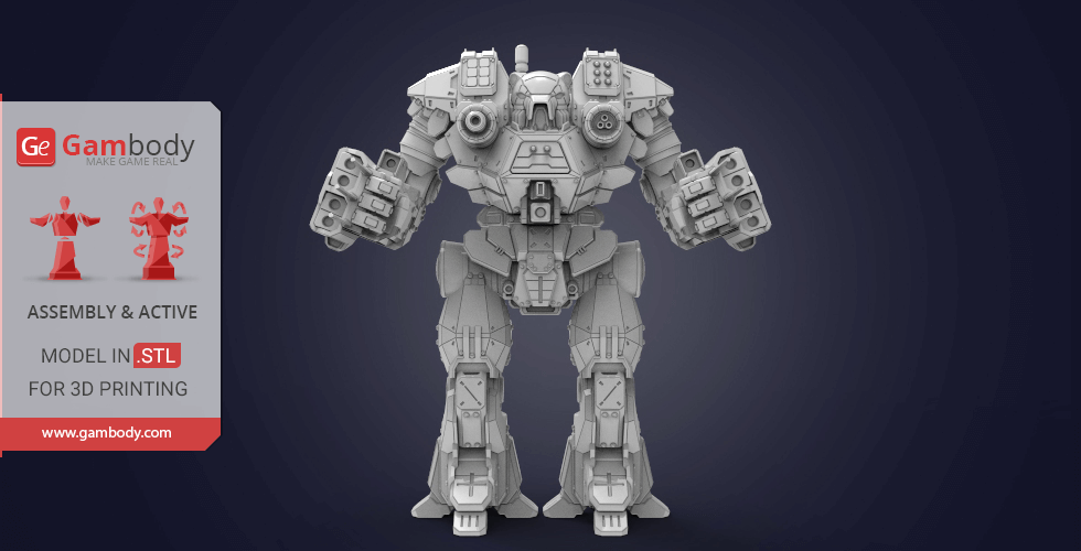 Buy Kodiak 3D Printing Model | Assembly + Action