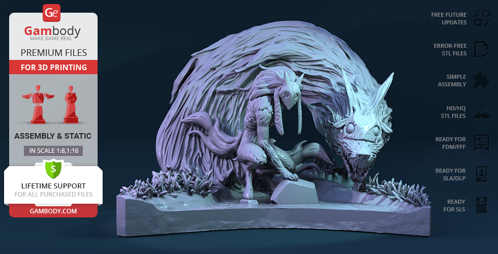 Buy Kindred 3D Printing Figurine | Assembly