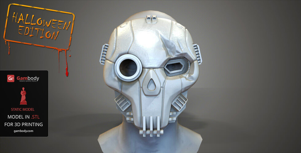 Buy BattleMech Atlas Mask for 3D Printing
