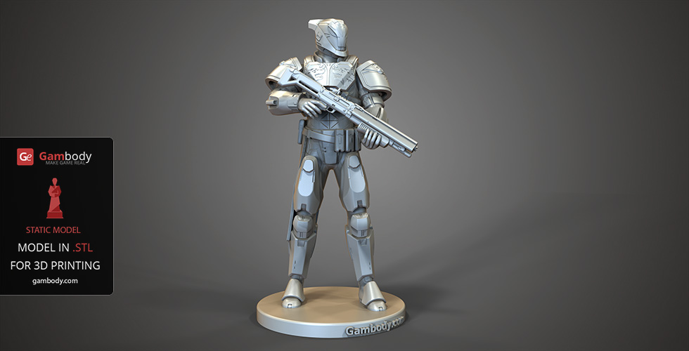 Buy Lord Saladin STL File for 3D Printing | Static + Assembly