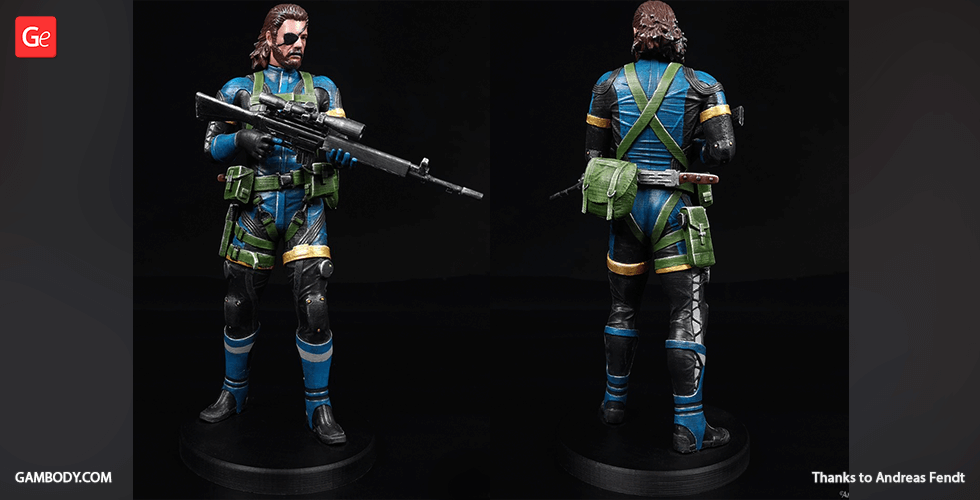 Buy Big Boss 3D Printing Figurine | Assembly