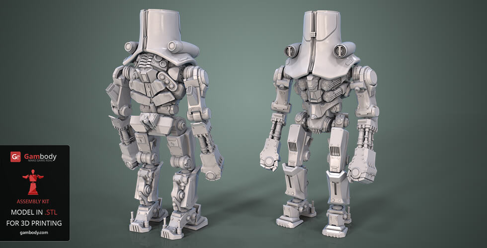Buy Cherno Alpha 3D Model | Assembly