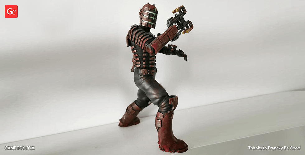 Buy Isaac Clarke 3D Printing Figurine | Assembly