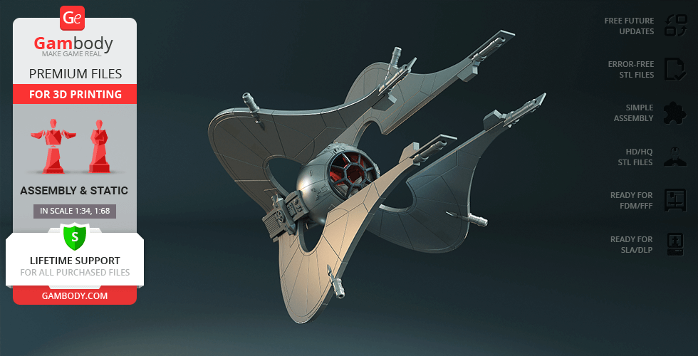Buy Nssis-class Clawcraft 3D Printing Model | Assembly