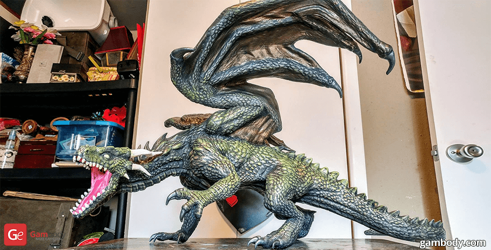 Buy Mountain Dragon 3D Printing Figurine | Assembly