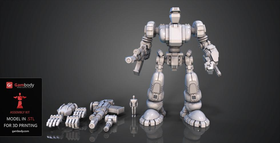 Buy 1/100 Scale Defender Mk1 Kit | Assembly 3D Print