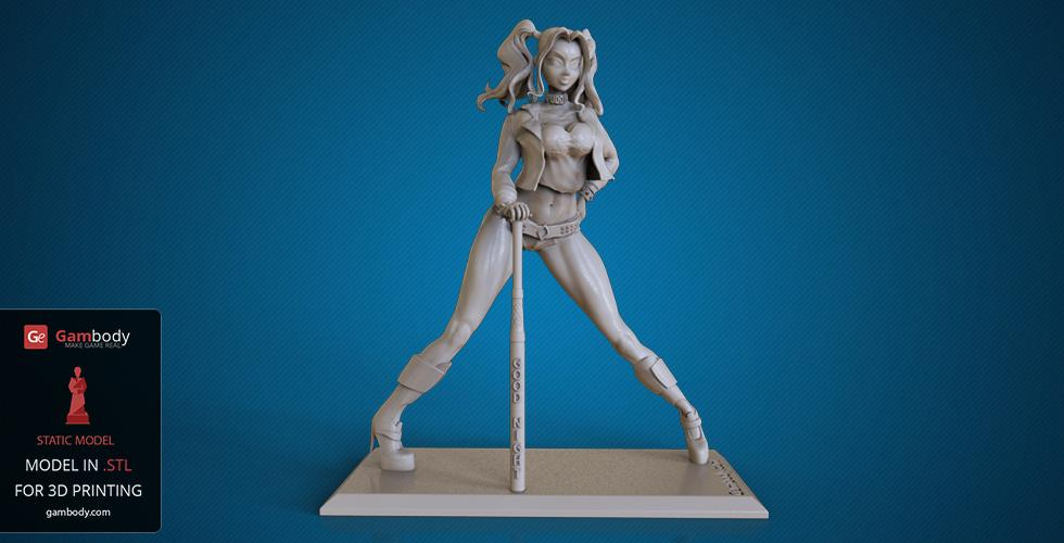 Buy Harley 3D Printing Model | Static