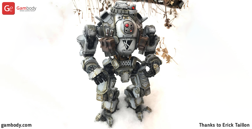 Buy Atlas Titanfall 3D Printing Model | Assembly
