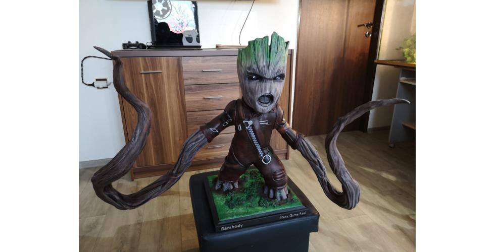 Buy Ravager Groot 3D Printing Model | Assembly