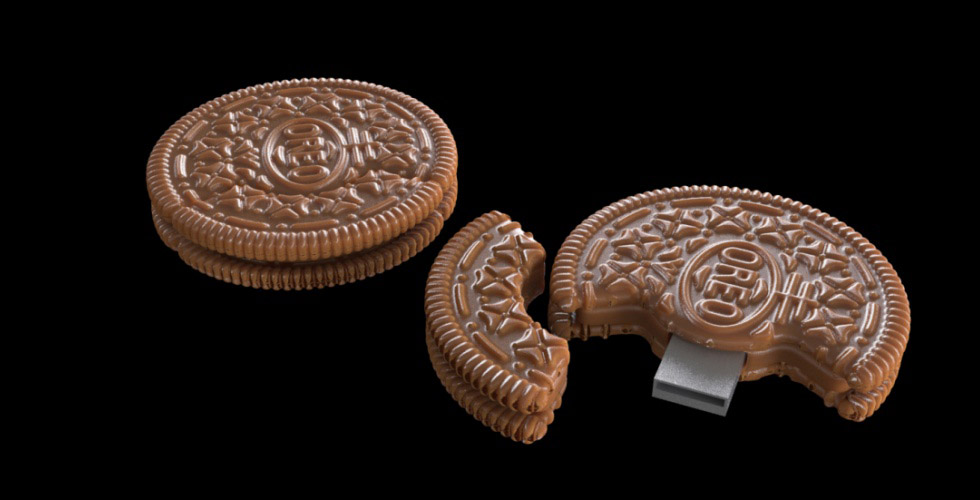 Buy Flash Memory Stick Oreo Cookie Case