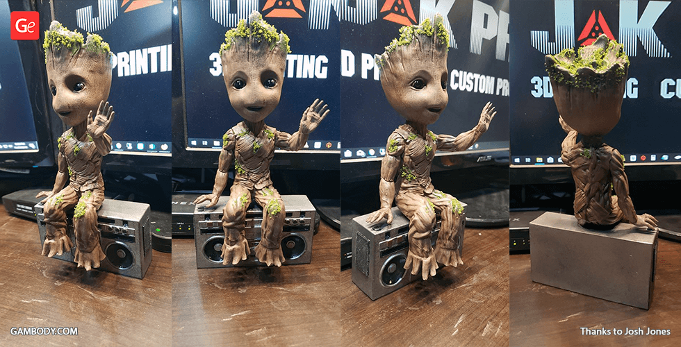 Buy Hello! Groot 3D Printing Figurine | Assembly
