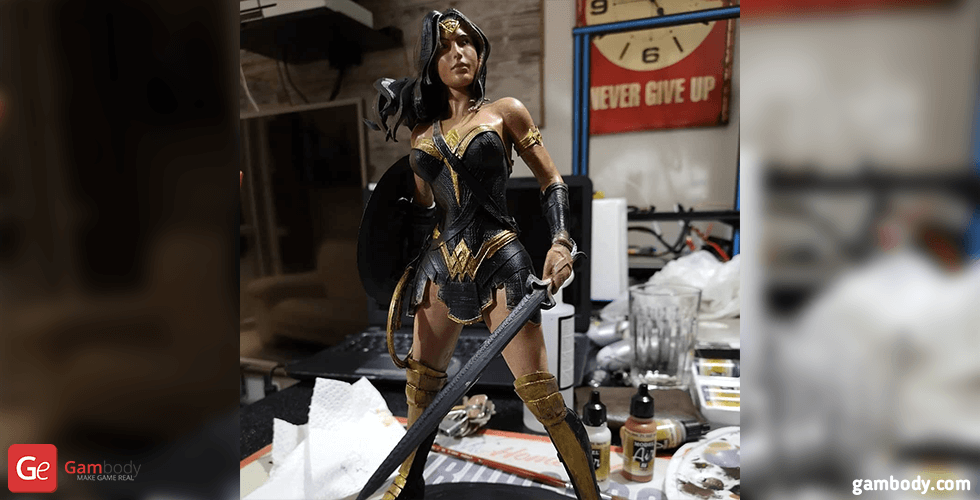Buy Wonder Woman 3D Printing Figurine | Assembly