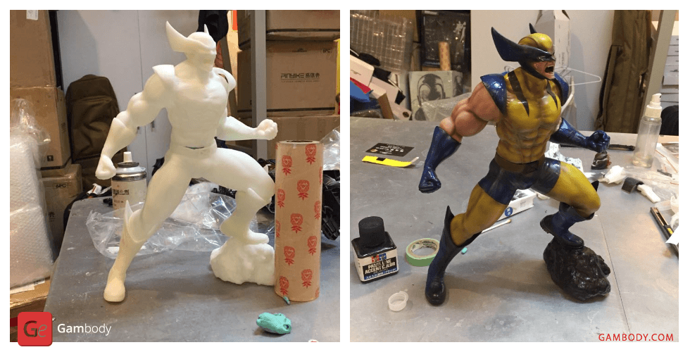 Buy Wolverine 3D Printing Figurine | Assembly