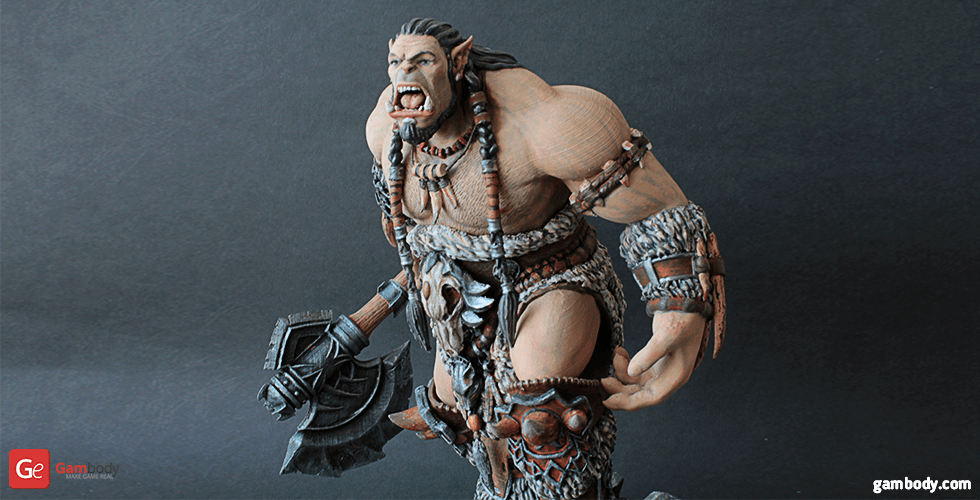 Buy Durotan 3D Printing Figurine | Assembly