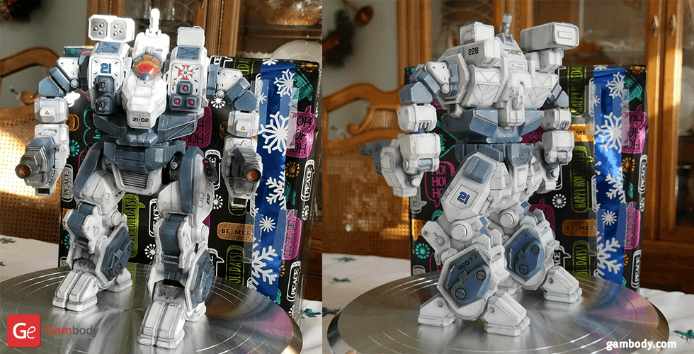 Buy MWO Hellbringer 3D Printing Files | Assembly + Action