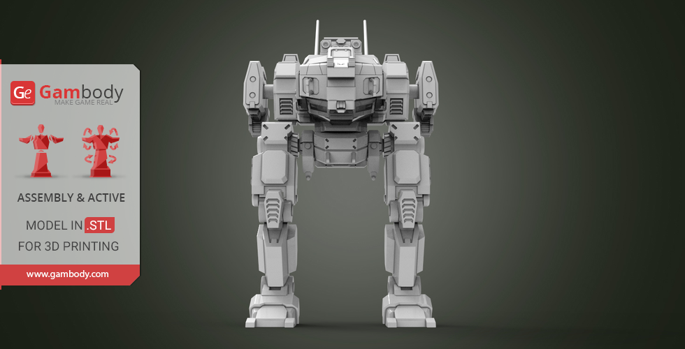 Buy MWO Jenner 3D Printing Files | Assembly + Action
