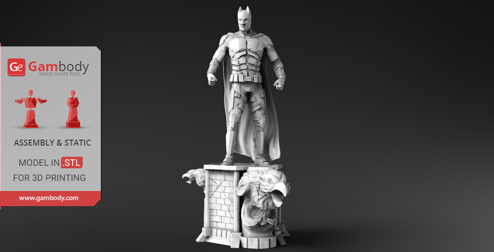 Buy Batman 3D Printing Miniature | Assembly