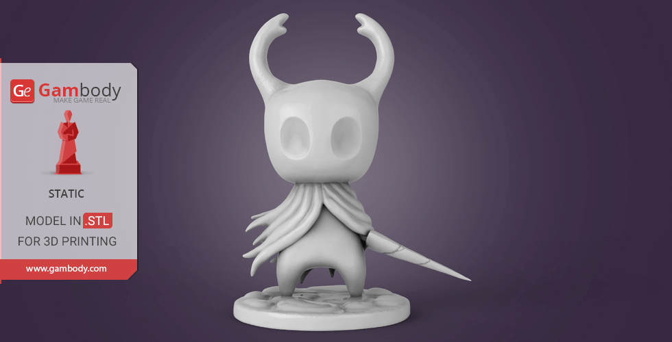 Buy Hollow Knight 3D Printing Miniature | Static