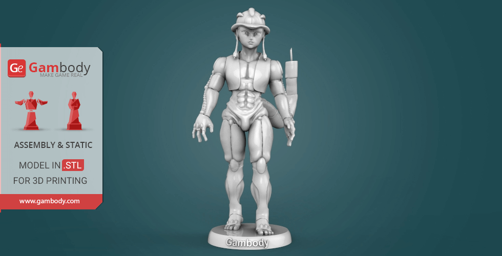Buy Meruem 3D Printing Miniature | Static + Assembly