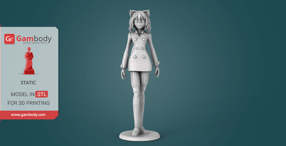 Buy Neferpitou Hunter x Hunter 3D Printing Miniature | Static